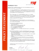 ENV-POL-002 – Sustainability Policy