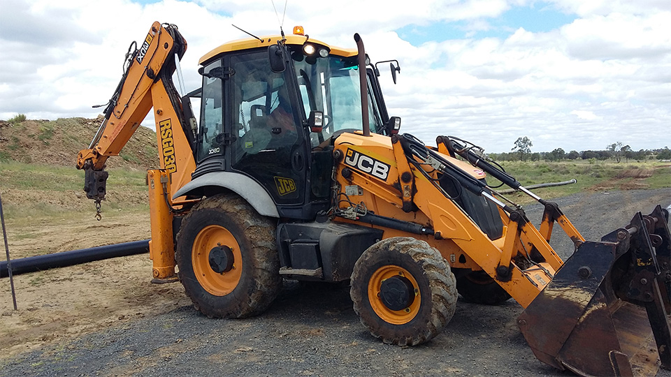 JCB Backhoe Loader 1
