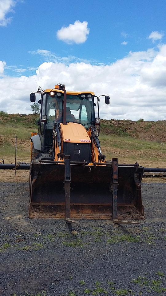 JCB Backhoe Loader 2