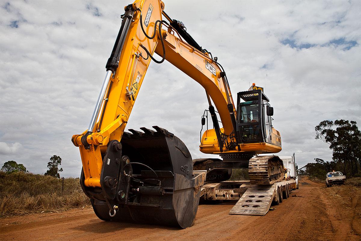 JCB Excavator 1